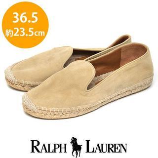 ラルフローレン(Ralph Lauren)の美品❤️ラルフローレン エスパドリーユサンダル 36.5(約23.5 7700→(スリッポン/モカシン)