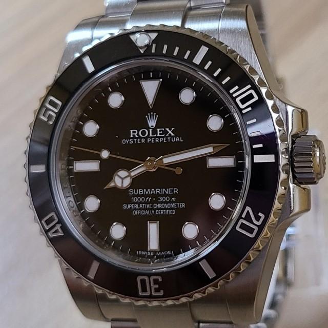 ROLEX(ロレックス)のロレックス ROLEX サブマリーナ 114060 メンズの時計(腕時計(アナログ))の商品写真