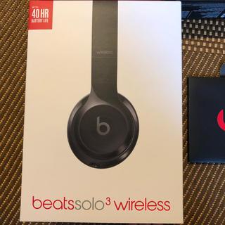 ビーツバイドクタードレ(Beats by Dr Dre)のbeats solo3 wireless ヘッドフォン(ヘッドフォン/イヤフォン)