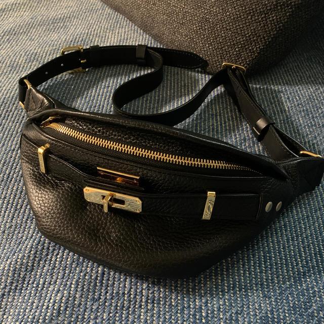 DEUXIEME CLASSE(ドゥーズィエムクラス)のSITA PARANTICAシータパランティカシボカワウエストポーチ ブラック レディースのバッグ(ボディバッグ/ウエストポーチ)の商品写真