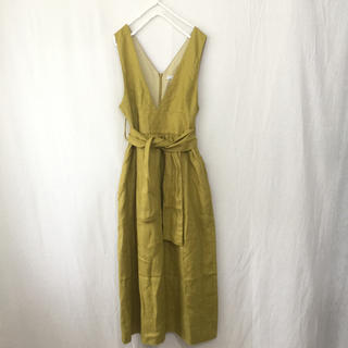 DEUXIEME CLASSE - Liyoca リヨカ リネンジャンパースカート