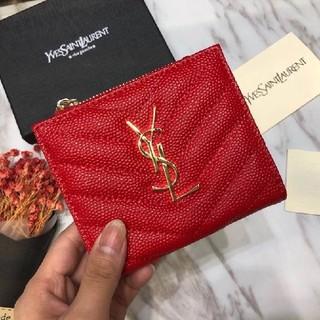 イヴサンローランボーテ(Yves Saint Laurent Beaute)の極美品 Saint Laurent  財布 レディース コインいれ  美品(財布)