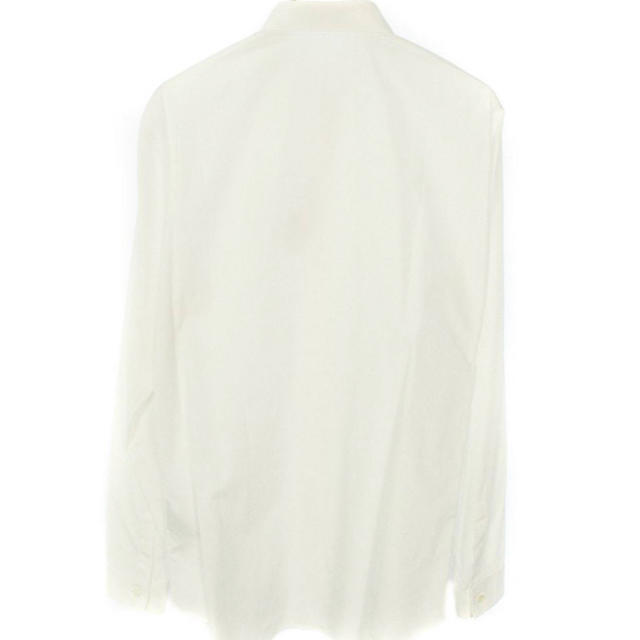 DIOR HOMME(ディオールオム)のdior homme ロゴ刺繍 長袖シャツ 40 白 メンズのトップス(シャツ)の商品写真