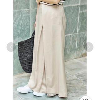 IENA - 定価19440円【新品タグ付】IENA サテンデザインロングスカート
