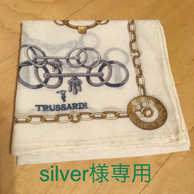Trussardi(トラサルディ)のハンカチ メンズのファッション小物(ハンカチ/ポケットチーフ)の商品写真