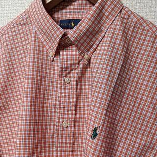 Ralph Lauren - 【新品】ラルフローレン 半袖シャツ チェックシャツ