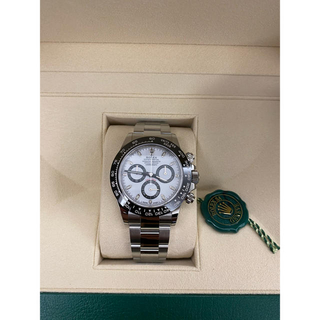 ロレックス(ROLEX)の【完全未使用新品】ロレックス デイトナ 116500 LN ホワイト(腕時計(アナログ))