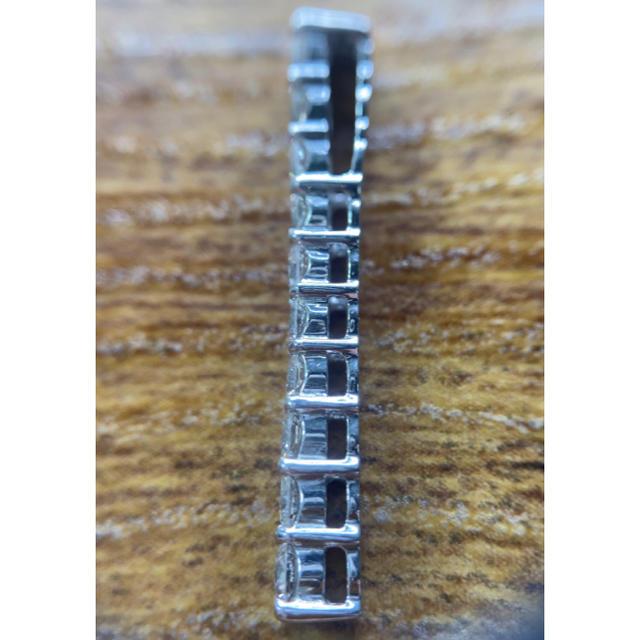 ★一文字モチーフ★✨ダイヤモンドK18WG ペンダントトップ別途チェーン購入可 レディースのアクセサリー(ネックレス)の商品写真