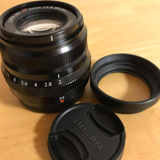フジフイルム(富士フイルム)のFujifilm XF35mm F2 R WR 美品(レンズ(単焦点))