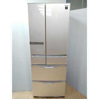 SHARP - 冷蔵庫 シャープ プラズマクラスター ジュエルシルバー フレンチドア