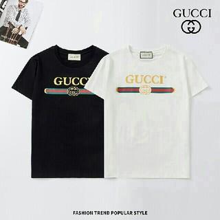 グッチ(Gucci)の[2枚8000円送料込み]GUCCIグッチ Tシャツ 半袖 男女兼用(Tシャツ(半袖/袖なし))