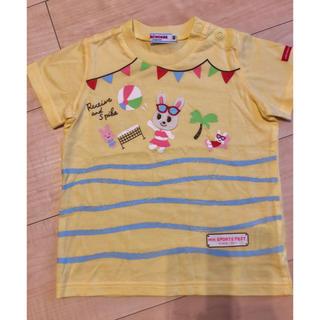ミキハウス(mikihouse)の✴︎新品未使用✴︎ミキハウス 半袖 Tシャツ 80(Tシャツ)