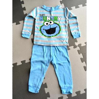 セサミストリート(SESAME STREET)のパジャマ ベビー セサミストリート エルモ クッキーモンスター セット 18ヶ月(パジャマ)
