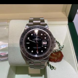 ロレックス(ROLEX)の16570 ランダム2013 希少 エクスプローラー2(腕時計(アナログ))