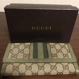 グッチ(Gucci)のGUCCI長財布(長財布)