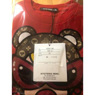ヒステリックミニ(HYSTERIC MINI)の赤105(Tシャツ/カットソー)