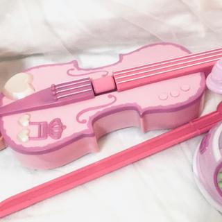 アンパンマン - まとめてピンクのオモチャ☆バイオリン☆電話