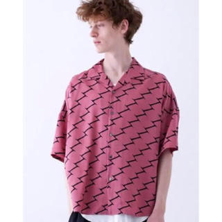 SHAREEF - 【新品未使用】SHAREEF(シャリーフ)復刻総柄オープンカラーシャツ