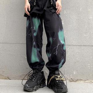 Thunder pants サンダー パンツ 雷 緑