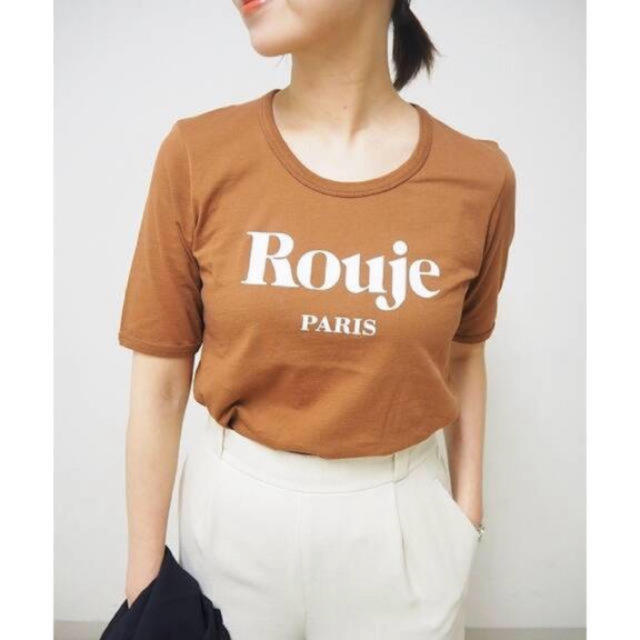IENA(イエナ)のrouje × IENA 別注Tシャツ 38 レディースのトップス(Tシャツ(半袖/袖なし))の商品写真