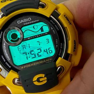 カシオ(CASIO)の【未使用】カシオ G-SHOCK FISHERMAN DW-8600YJ-9T(腕時計(デジタル))