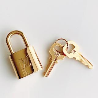 LOUIS VUITTON - ★未使用品 ルイヴィトン  南京錠 パドロック カデナ 301 鍵2本 セット