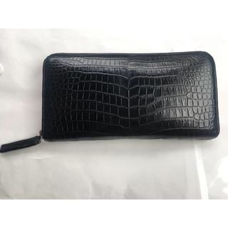 東京クロコダイル   スモールクロコダイル マットプレミアメイドラウンド 長財布(長財布)