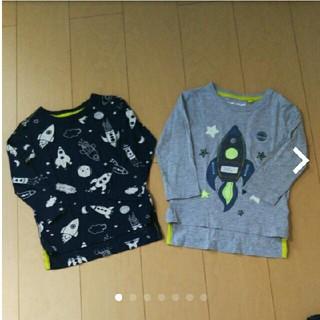 NEXT - ☆next☆ ロケット柄 ロンT 2枚セット size92