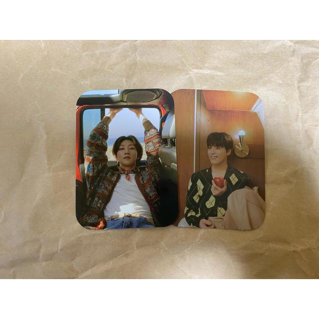 SEVENTEEN(セブンティーン)のSEVENTEEN ヘンガレ Weverse特典 ミンハオ ディノ トレカ エンタメ/ホビーのCD(K-POP/アジア)の商品写真