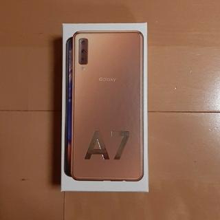 Galaxy - GALAXY A7  ゴールド