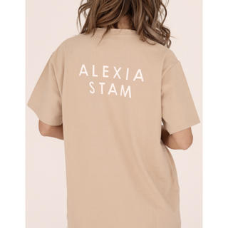 ALEXIA STAM - alexiastam Tシャツ モカ