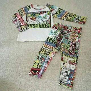 ヒステリックミニ(HYSTERIC MINI)のセットアップ(Tシャツ/カットソー)