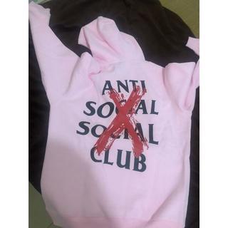 アンチ(ANTI)のanti social social club (パーカー)