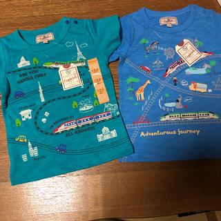 マザウェイズ(motherways)のお値下げ❗ 新品 マザウェイズ 90 Tシャツ 2枚セット(Tシャツ/カットソー)