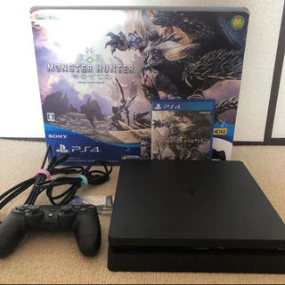 PlayStation4 - PS4 本体 500GB + モンスターハンターエディション