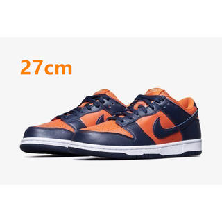 ナイキ(NIKE)のNIKE DUNK LOW CHAMP COLORS 27cm(スニーカー)