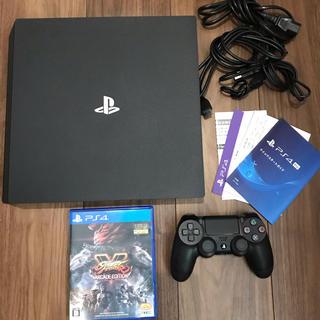 PlayStation4 - ps4 本体 1tb ジェットブラック  ps4pro