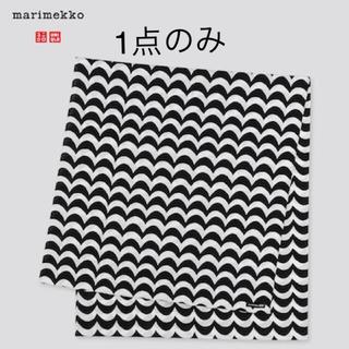 marimekko - マリメッコ UNIQLO コットンxリネンストール