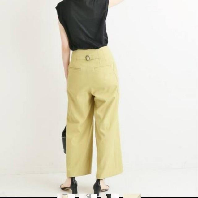 IENA(イエナ)のIENA パッチポケット オックスワイドパンツ レディースのパンツ(カジュアルパンツ)の商品写真