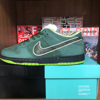 ナイキ(NIKE)のNike SB Dunk Low Concepts Green Lobster(スニーカー)