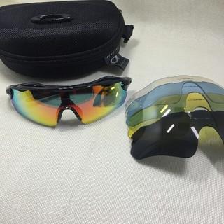 Oakley - 新品 OAKLEY オークリー RADAR EV 偏光スポーツサングラス 偏光