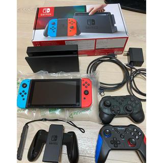 Nintendo Switch - Nintendo Switch 本体 ネオンレッド/ブルー 旧モデル
