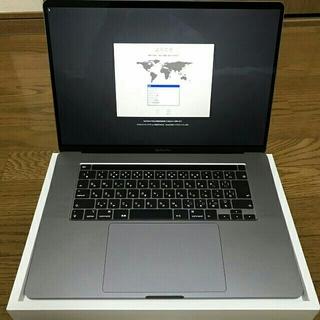 Mac (Apple) - 【美品】MacBook Pro 16インチ スペースグレー 本体 送料無料