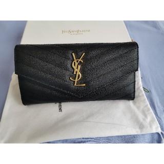 イヴサンローランボーテ(Yves Saint Laurent Beaute)のYSL 長財❤布 レディース 小銭♪入れ  人気品(財布)