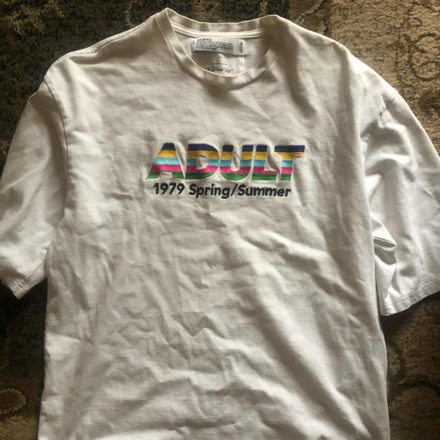 DAIRIKU 19SS ADULT  A Grow Up    メンズのトップス(Tシャツ/カットソー(半袖/袖なし))の商品写真