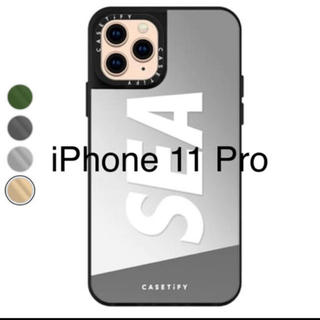 シー(SEA)のiPhone 11 Pro ケース 正規品 シルバー (モバイルケース/カバー)