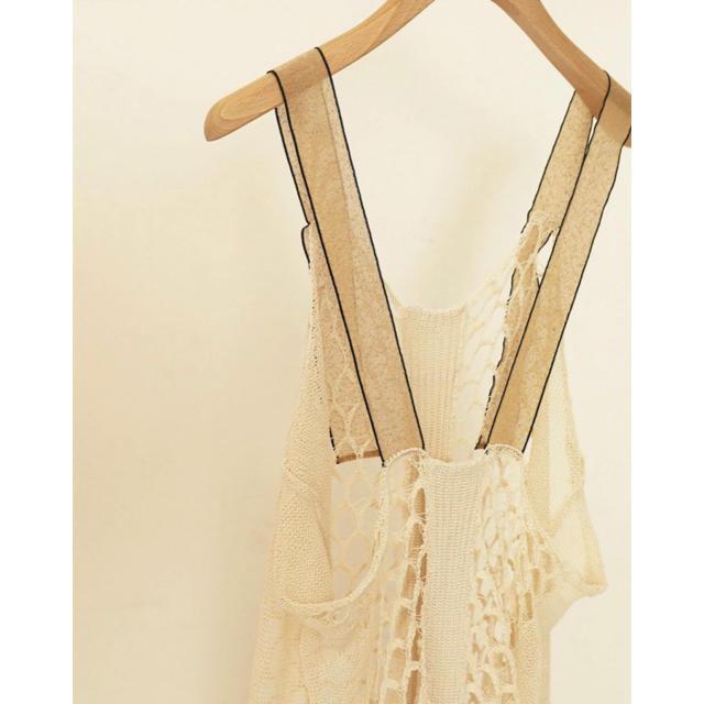 TODAYFUL(トゥデイフル)のTODAYFUL Mesh Knit Dress レディースのワンピース(ロングワンピース/マキシワンピース)の商品写真