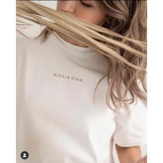 ALEXIA STAM - 即購入可能★alexiastam バーニーズニューヨーク 限定 Tシャツ ロゴT