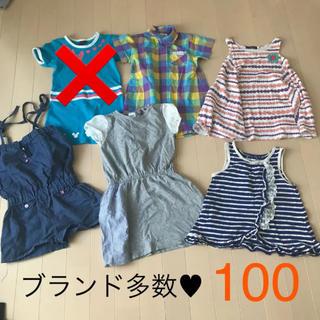 シップス(SHIPS)の100 ワンピース まとめ売り ☆夏 女の子(ワンピース)