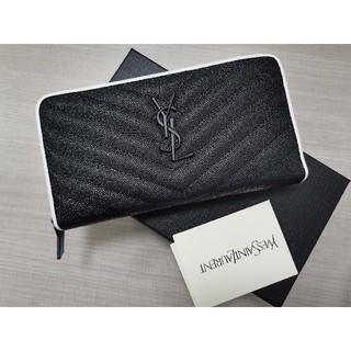 Yves Saint Laurent Beaute - 大人気(*^^*) Y♪S♪L 長財布 ファスナー 小銭♪入れ ブラック